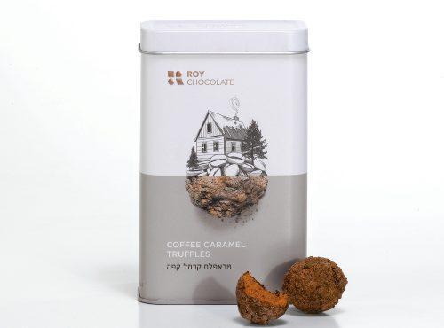 טראפלס קרמל קפה